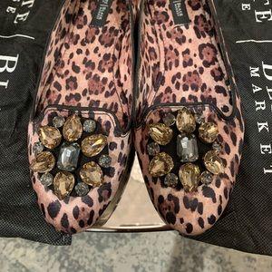 Super Cute Satin Leopard Flats🐯